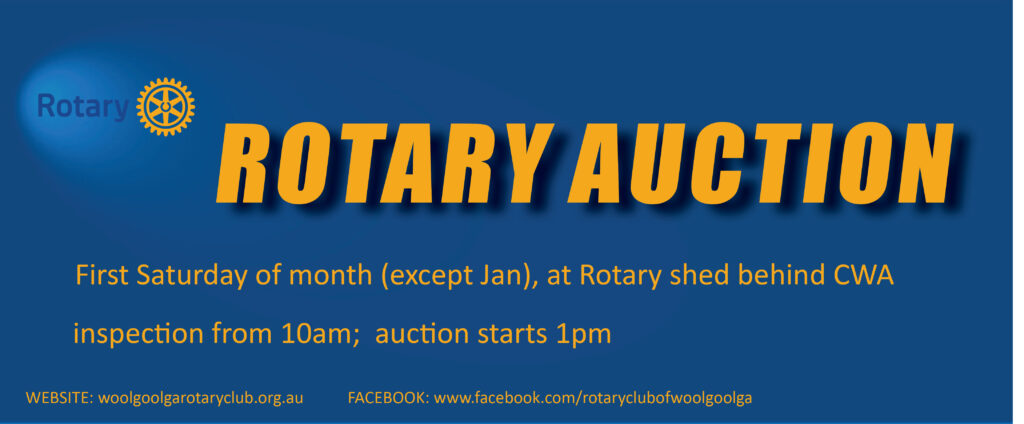 Rotary auction banner modified for website